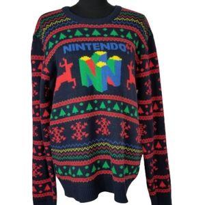 Nintendo 64 ugly Christmas sweater
